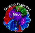 "Giant 24"" Mylar Spring Flowers Bouquet"