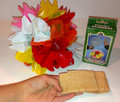 Non Tear Plastic Spring Flowers - Box of 25