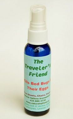 Bed Bugs have you worried about traveling? According to three different books, Lavender, Tea Tree and Lemongrass all kill bed bugs! Spray bedding, carpets, chairs, etc. 2oz