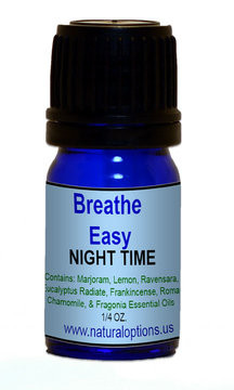 Natural Options Aromatherapy Breathe Easy Night Time Blend