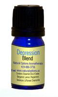 Natural Options Aromatherapy Depression Blend