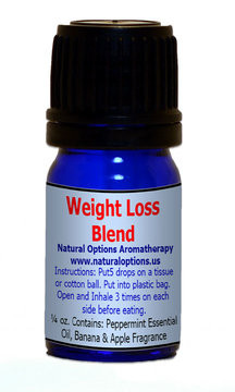 Natural Options Aromatherapy Weight Loss Blend