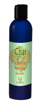 Natural Options Aromatherapy soothing Chai Shower Gel
