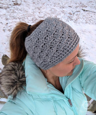 By the Shore Pony Tail Winter Hat
