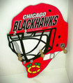 Chicago Blackhawks Cap & Jacket Peg Hanger