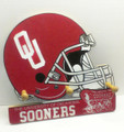 Oklahoma University Cap & Jacket Peg Hanger