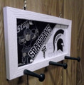 Michigan Spartans License Plate Peg Hanger (SI series)