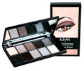 NYX For Your Eyes Only 10 Color Eyeshadow Palette | Smokey Eyes