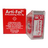 Arti-Fol Articulating Film 1 Sided Red in Dispenser