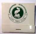 Vintage Lost Tree Club of North Palm Beach, FL FrontstrikeMatchbook Unstruck -