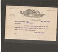 B.J. Johnson Soap Co Confirmation Letter for Palmolive Soap Bars - Oct. 1910