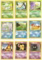 Lot of 9 Assorted Pokemon Cards - 1999, 2000