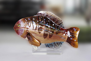 "18"" x 11"" Fish Sculpture (71152)"