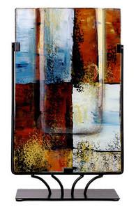 "14"" X 8"" Rec. Vase 20138S"