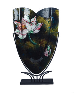 "14"" X 23"" Fused Glass Vase S90013"