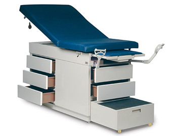 Hausmann Model 4412 Gas Spring Back Exam Table