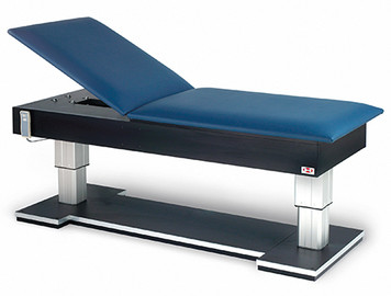 Hausmann Model 4795 Bariatric Hi-Lo Treatment Table with Power Backrest