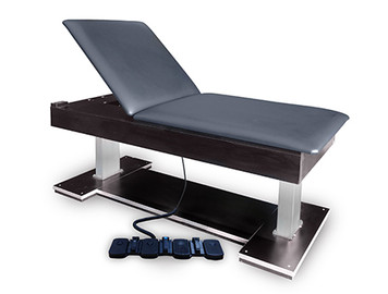 Hausmann Model 4797  Econo Bariatric Hi-Lo Treatment Table with Power Backrest