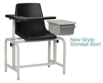 Winco Model 2570 Blood Drawing Chair with Cabinet