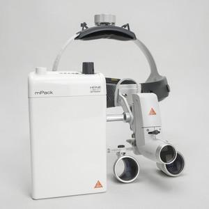 HEINE® ML 4 LED Head Light Kits, HR or HRP Binocular Loupes; Head Band & mPack with transformer