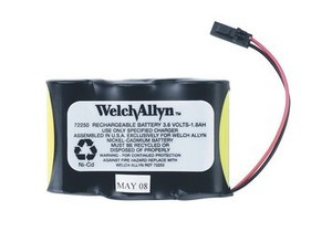 Welch Allyn Lumiview Battery 72250