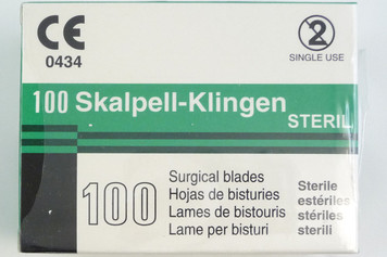 Scalpel Blade, Sterile, fig. 10