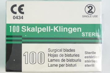 Scalpel Blade, Sterile, No. 12