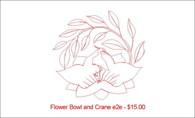 Flower Bowl and Crane e2e