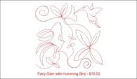 Fairy Glen with Humming Bird