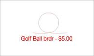 Golf Ball brdr