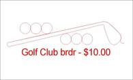 Golf Club brdr