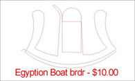 Egyption boat brdr