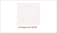 Line Square e2e
