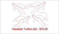 Hawaiian turltes e2e
