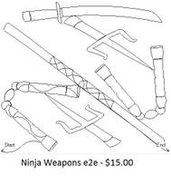 Ninja Weapons e2e