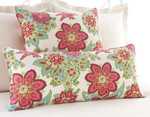 Pine Cone Hill Shalini Ivory/Rasberry Dec Pillow