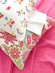 Pine Cone Hill Shalini Ivory/Rasberry Decorative Pillow