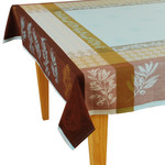 Jacquard Tablecloths - Olivado Turquoise