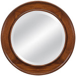 Laurel Crown Circular Mirror