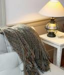 Kenebunk Home Buckingham Throw -Lichen