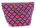 Fresh American Le Tote Navy/Fuchsia Tote Bag Grand