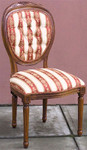 Laurel Crown Louis XVI Medallion Back Chair