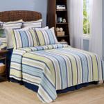 Levtex Newport Stripe Quilt Set
