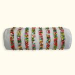 Dena Home Dakota Ruffled Decorative Pillow - Neckroll