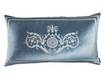Lili Alessandra Paris King Pillow - Ice Blue/Ivory