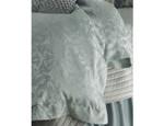 Lili Alessandra Jackie Blue-Silver Jacquard Duvet Cover