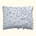 Nostalgia Home Petals White Pillow Sham