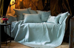 Lili Alessandra Battersea Quilted Bedspread - Seafoam