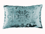 Lili Alessandra Morocco Small Rectangle Pillow - Seafoam / Seafoam Velvet
