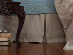 Lili Alessandra Mozart Tailored Bed Skirt